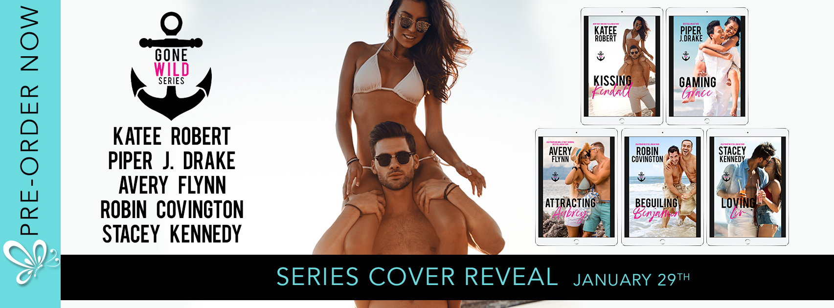 Cover Reveal: Gone Wild Series