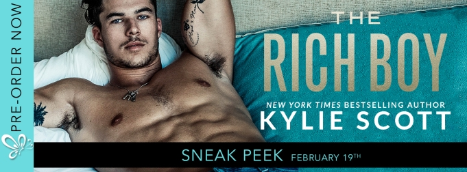 SNEAK PEAK: THE RICH BOY by Kylie Scott